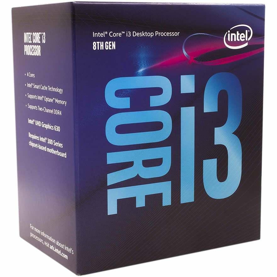 caja del procesador intel core i3 8100 el mejor procesador barato