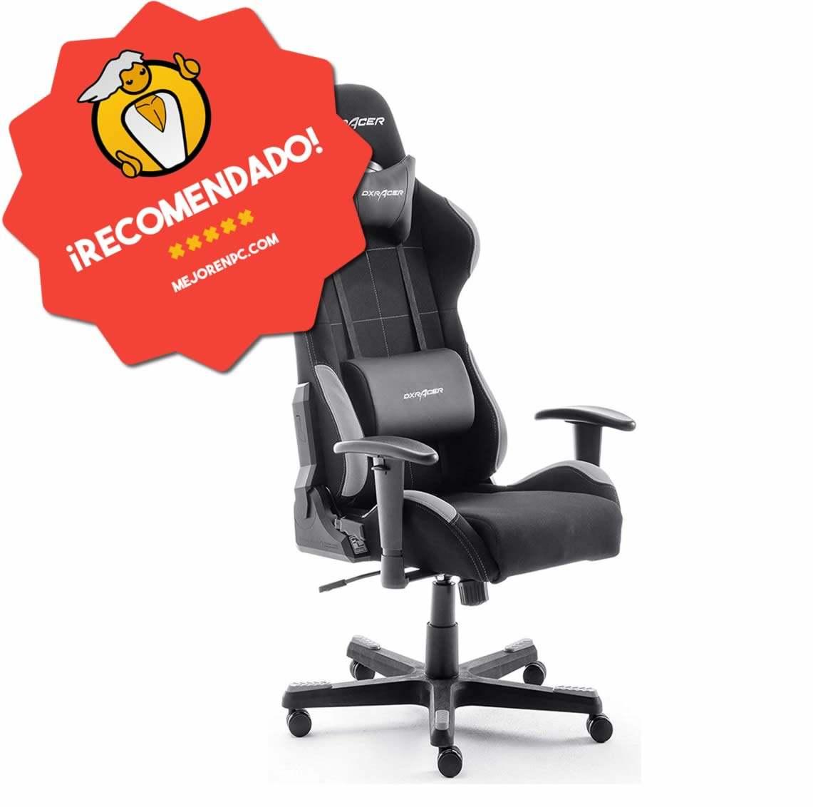 mejor silla gamer dxracer