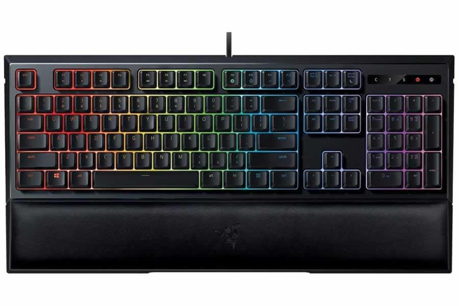 teclado gaming barato razer