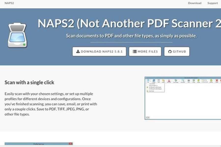 programa para escanear NAPS2