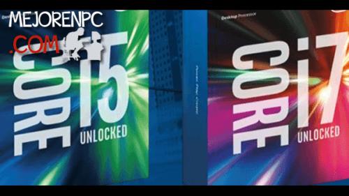Mejores procesadores Intel 1151