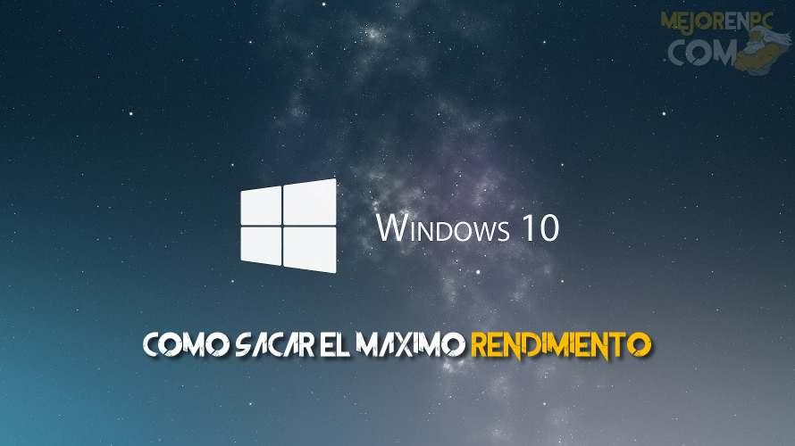 5 Consejos para acelerar Windows 10 de forma sencilla
