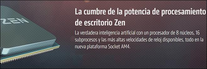 Procesadores AMD Ryzen 7 (AM4)