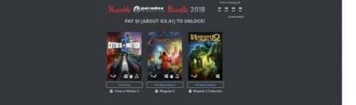 Humble Bundle Paradox Interactive