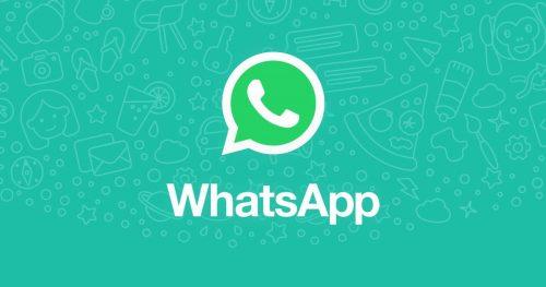 Logo de WhatsApp sobre un fondo verde