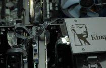 Disco duro sólido Kingston SSD A400 instalado en un pc