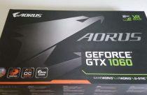 AORUS GeForce GTX 1060 caja