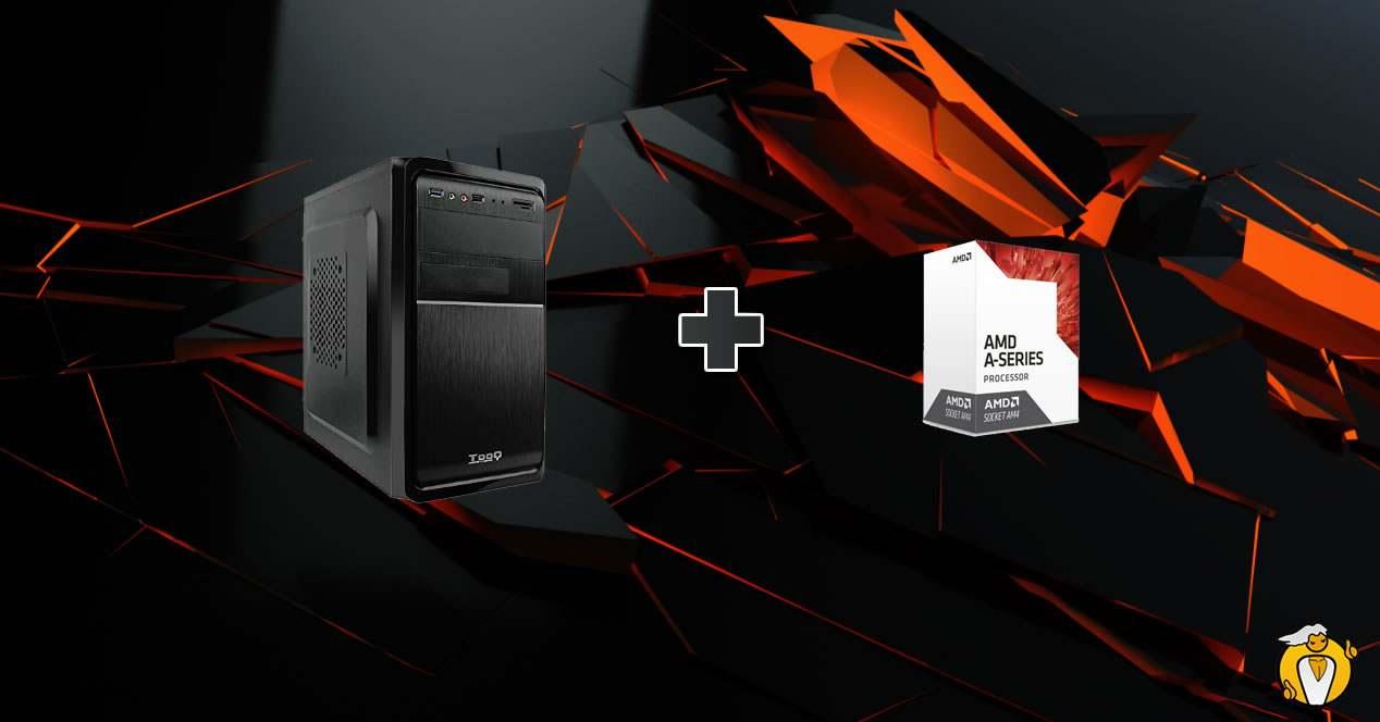 Presupuesto low cost pc gaming compacto 250 euros