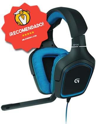 mejores cascos gaming baratos para ps4 Y pc Logitech G430