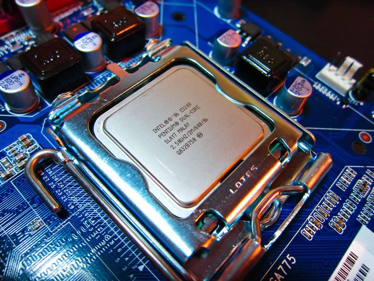 Procesadores intel lga 775 socket procesadores compatibles