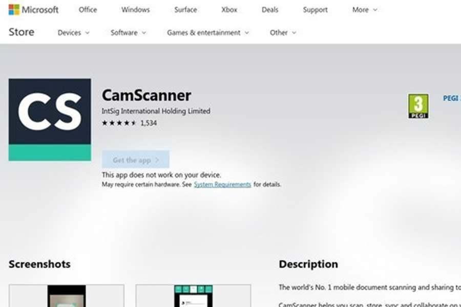 mejor programa para escanear camscanner