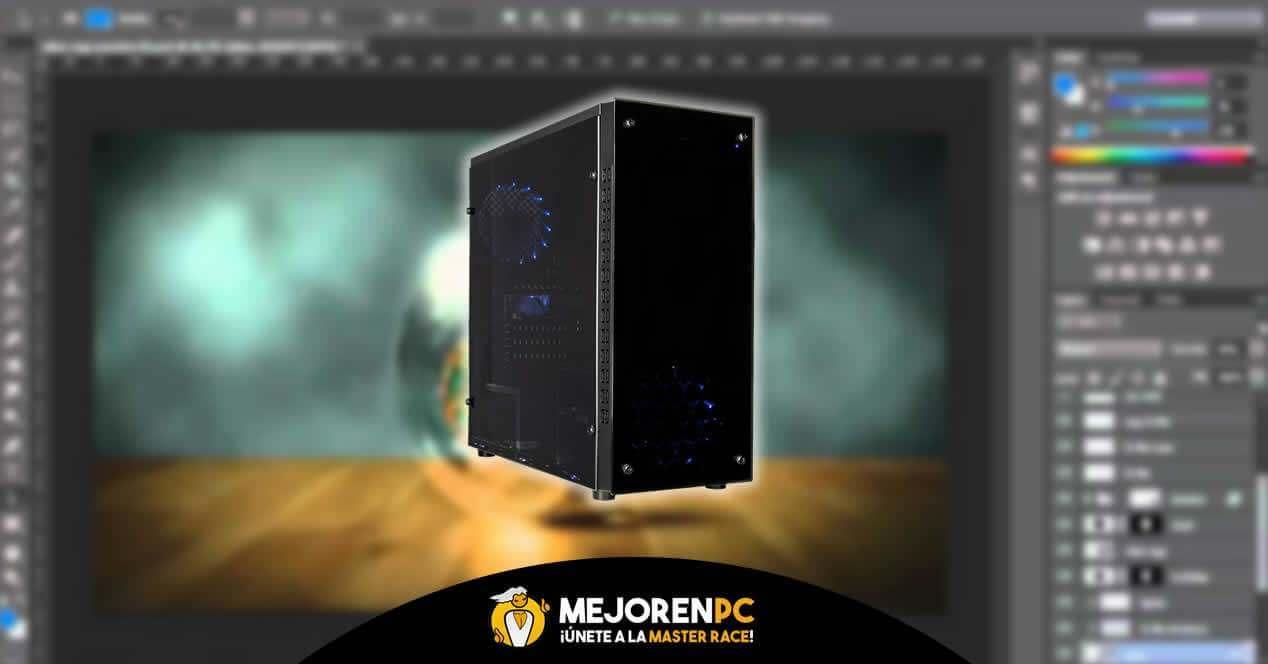 Configuración PC Diseño gráfico y edición de vídeo