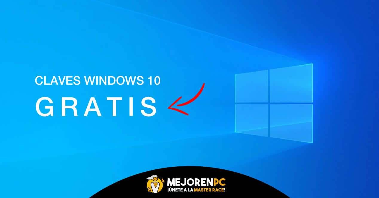 Claves para windows 10 gratis